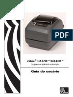Manual - Zebra GX420T