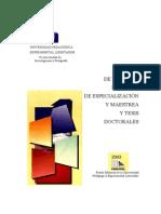 Manual Trabajos de Grado 2003 UPEL