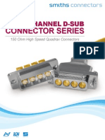 Fibre Channel D Sub Brochure