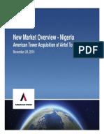 New Market Overview - Nigeria