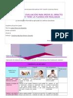 Instrumento de Evaluación Para Medir Impacto Educativo Que Tiene La Planeación Realizada
