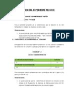 Analisis Del Expediente Tecnico
