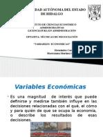 Variables Economicas