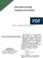 11. Intervenciones Tecnoestructurales