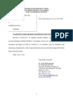 GOOD MAN PRODUCTIONS, INC., v Corrie Covelli Civil Action Case No. 0:14-cv-62727-BB
