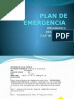 Presentacion Plan de Emergencias