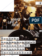 BMW Motorrad Poster Model Range 2015