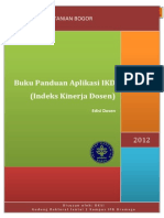 15. SI Indeks Kinerja Dosen (IKD)