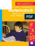 (Preview) DONE_Matematica Exercitii, Probleme, Teste Initiale Clasa III