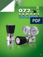 Regulador de presión 072 Series