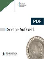 Goethe Auf Geld