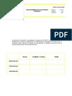 Plan Auditoria