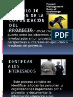 Administración de Las Comunicaciones de Acuerdo Al PMBOK