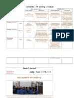 schedule & journal1
