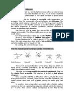 FeC and TTT Diagrams