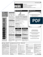 Claremont COURIER Classifieds 6-12-15