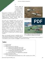 Avión de Caza - Wikipedia, La Enciclopedia Libre