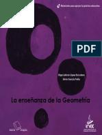 GARCÍA Peña, Silvia y Olga Leticia López Escudero (2008), La Enseñanza de La Geometría, México, InEE. [en Línea] Httpwww.inee.Edu.mxmapethemesTemaIneeDocumentosmapesgeometriacompletoa.pdf
