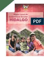 Marco Local de Convivencia Escolar Hidalgo 2015