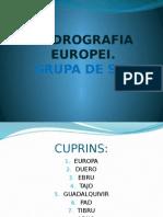 Hidrografia Europei. Grupa de Sud