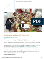 Want to Change The Food System by Adrien Schless-Meier