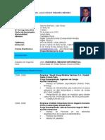 Curriculum Julio Tabares