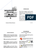 Manual de Seguridad e Higiene en Construccion
