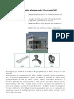 Introducción Al Modelado 3D en AutoCAD
