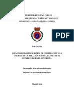 Tesis - Impacto de Los Programas de Fidelización y La Calidad de La Relación Sobre La Lealtad Al Establecimiento Minorista