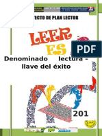 PROYECTO DE PLAN LECTOR 2015 - Q.docx