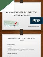 1. Localizacion de Planta