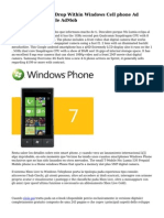 Developers Notice Drop Within Windows Cell phone Ad Income From Google AdMob