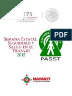 Semana Estatal de Seguridad y Salud en el Trabajo 2015
