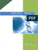 biology project class x