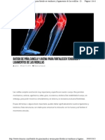 Batido Para Fortalecer Tendones y Ligamentos