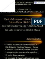 Control de Napa Freatica Well Point - UNS Chimbote
