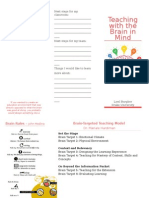 teaching with the brain in mind brochure