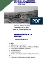 Legislacion Mineria extractiva