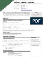hJavier Solis Curriculum Vitae