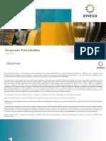 ENEVA Corporate Presentation ? June 2015