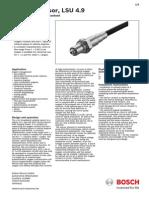 Lean Burn Lambda Sensor Technical Information Oxigeno 3
