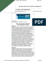Denúncia como Recurso Tipificável como Embargos de Declaração ao PGR