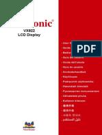 VX922 User Guide Polish