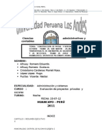 """proyectos """"Pavimentación de veredas Chilca"""