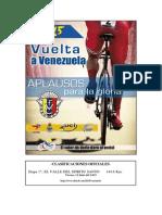 e1 Vuelta Ciclista a Venezuela #Vven15