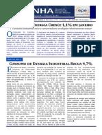 Resenha Mensal Do Mercado de Energia Elétrica - Janeiro 2015