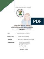 Informe de Parasitologia