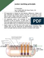 Oil Separator Working Principle