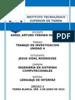 Investigacion Unidad 4 Ferman