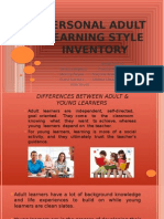 personal adult learning style inventory presentation